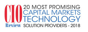 priceSeries named among 20 most promising Capital Markets Technology Solution Providers 2018 by CIOReview